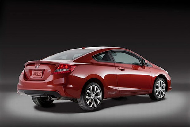 Honda introduced the U.S. Civic Sedan and coupe 2012
