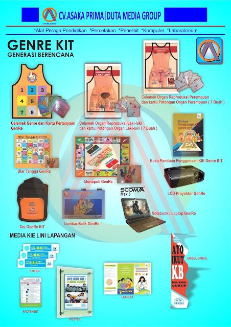 GENRE kit 2016 - Paket Pengadaan Genre Kit BKKBN 2016 - Distributor Produk DAK BkkbN 2016