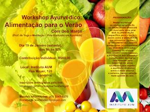 Workshop Ayurvédico: Alimentação para o Verão