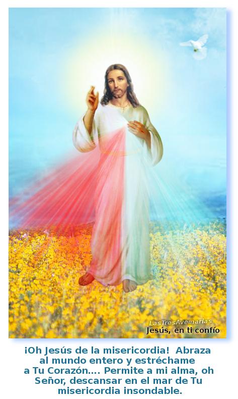 cielo azul con jesus