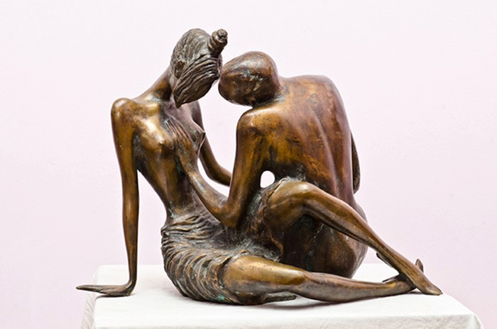 Love. 2002 .year.bronze.38X50X48 cm 20000 $