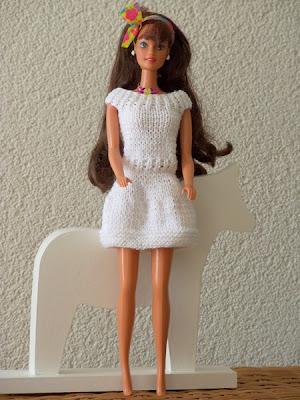 De tante van Tjorven: Breien voor Barbie