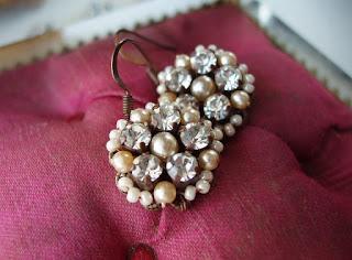 crystal jewelry, crystal jewellery, crystal earrings, crystal drop earrings, crystal rhinestone earrings, vintage style earrings, wedding crystal jewelry, bridal crystal jewelry
