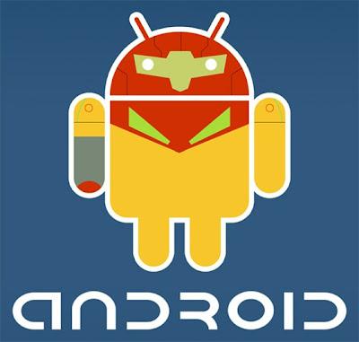 Imagen de la mascota de Android - Metroid
