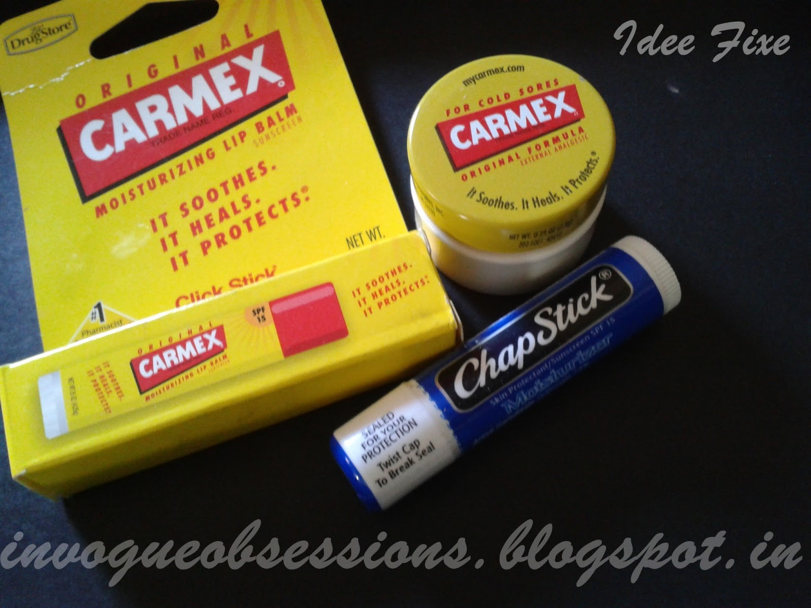 Carmex Original Formula Carmex Moisturizing Lip Balm Chapstick Moisturizer, Where to buy Carmex and Chapstick in India