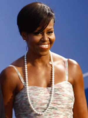 Michelle Obama Fresh Water Pearls