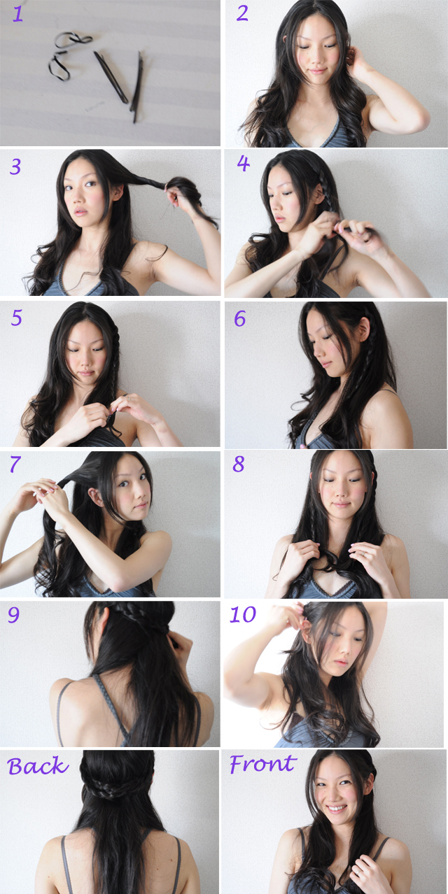 Braided Hair Style Tutorial