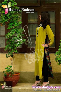 Girls Casual Kurtas Collection 2013 by Humna Nadeem