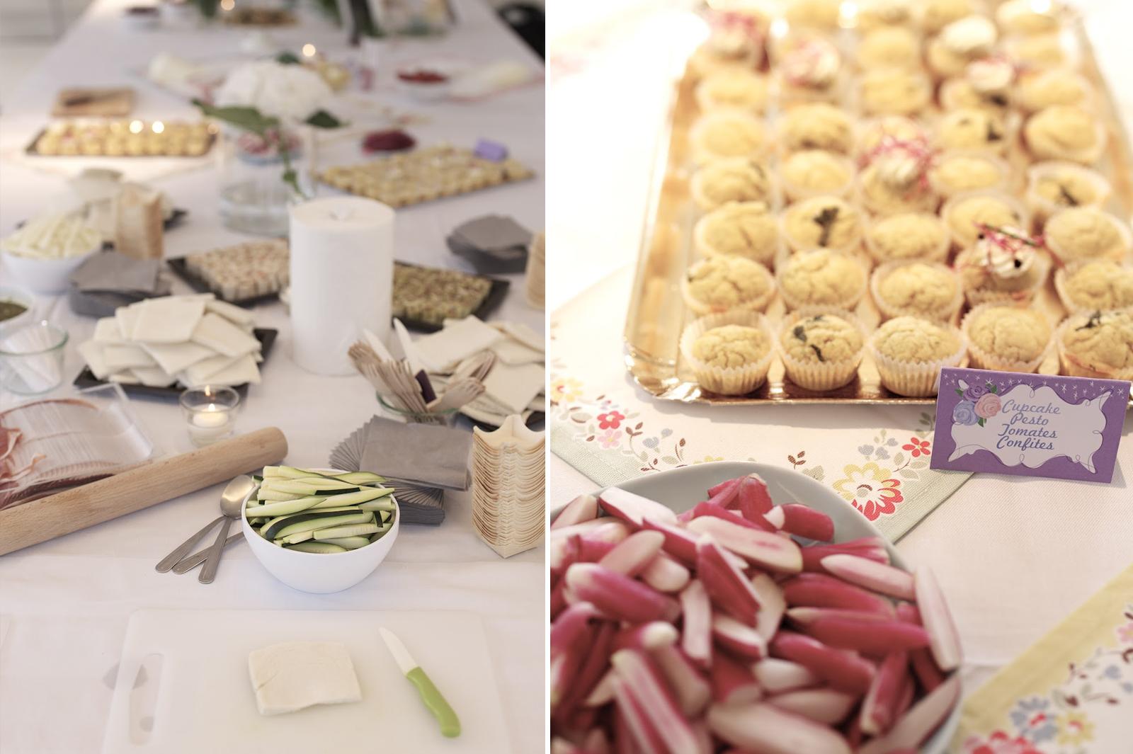mini cupcakes salés