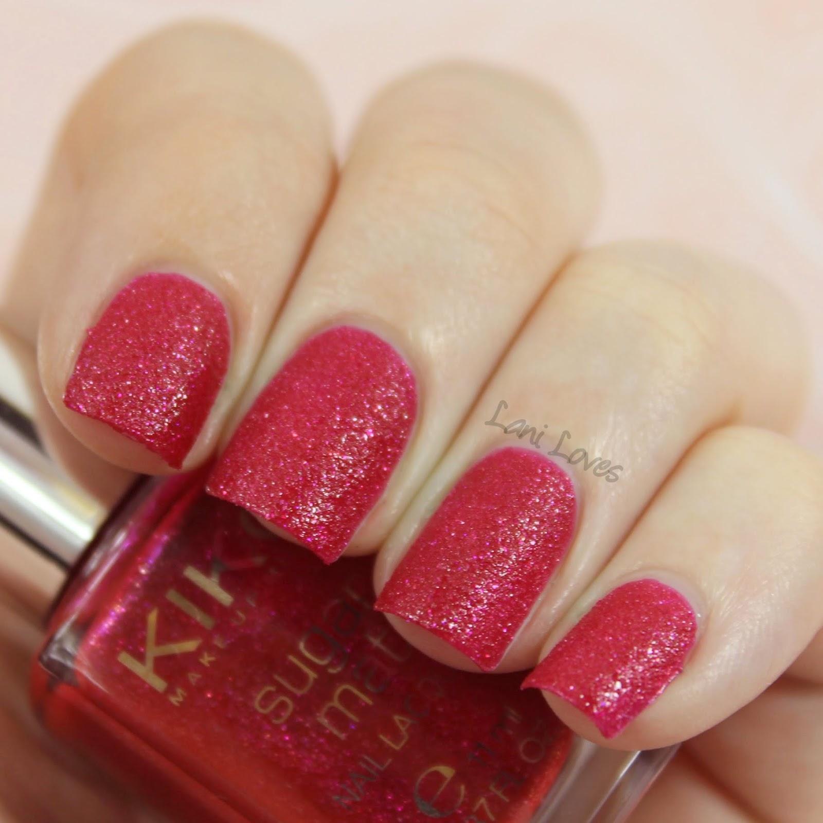 Kiko Sugar Mat - Cherry Red Swatch