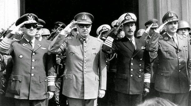 U.S.-backed coup in Chile in 1973