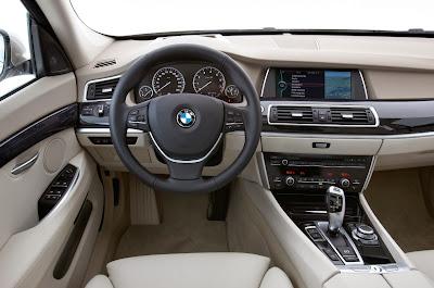 Interior de BMW Serie 5 GT
