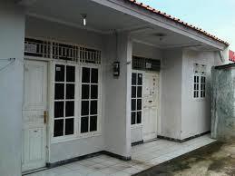 Keberadaan rumah-rumah kontrakan/rumah petak cukup membantu masyarakat
