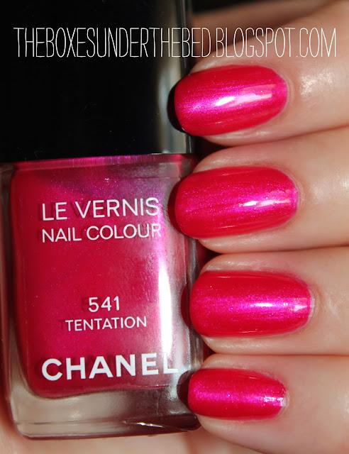 Chanel Tentation Le Vernis swatch