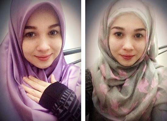 Gambar Emma Maembong Cun Bertudung OHBlogger Malaysia