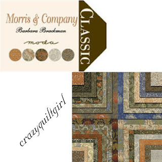 Moda MORRIS & COMPANY Fabric by Barbara Brackman
