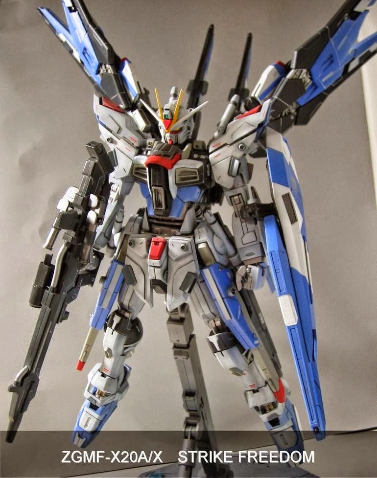 MG 1/100 ZGMF-X20A / X Strike Freedom Custom Build ...