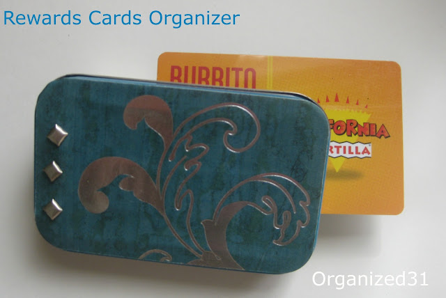 Organized31 - Store Rewards Card Organizer