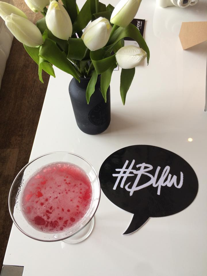 bloggertini, martini, pink cocktail, drink, flat lay, #BLFW