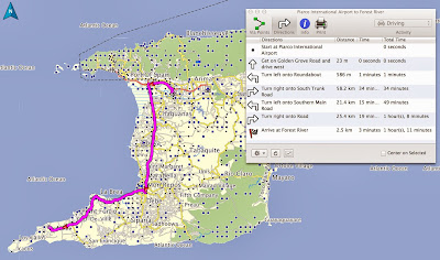 GPS, Map, Garmin, Trinidad, Aruba, Driving, Car Rental