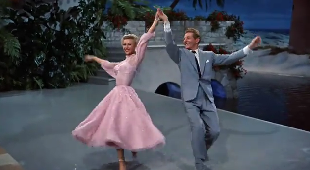 the twelve days of white christmas number 11 two hoofers limping - Danny Kaye White Christmas