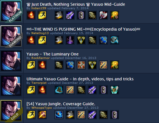 Best Yasuo Top Build