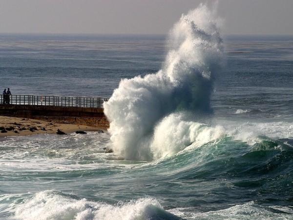 Ondas no mar