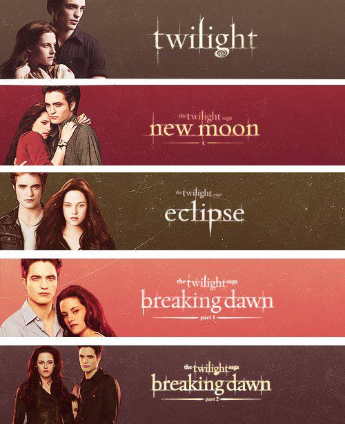 Twilight movie songs order