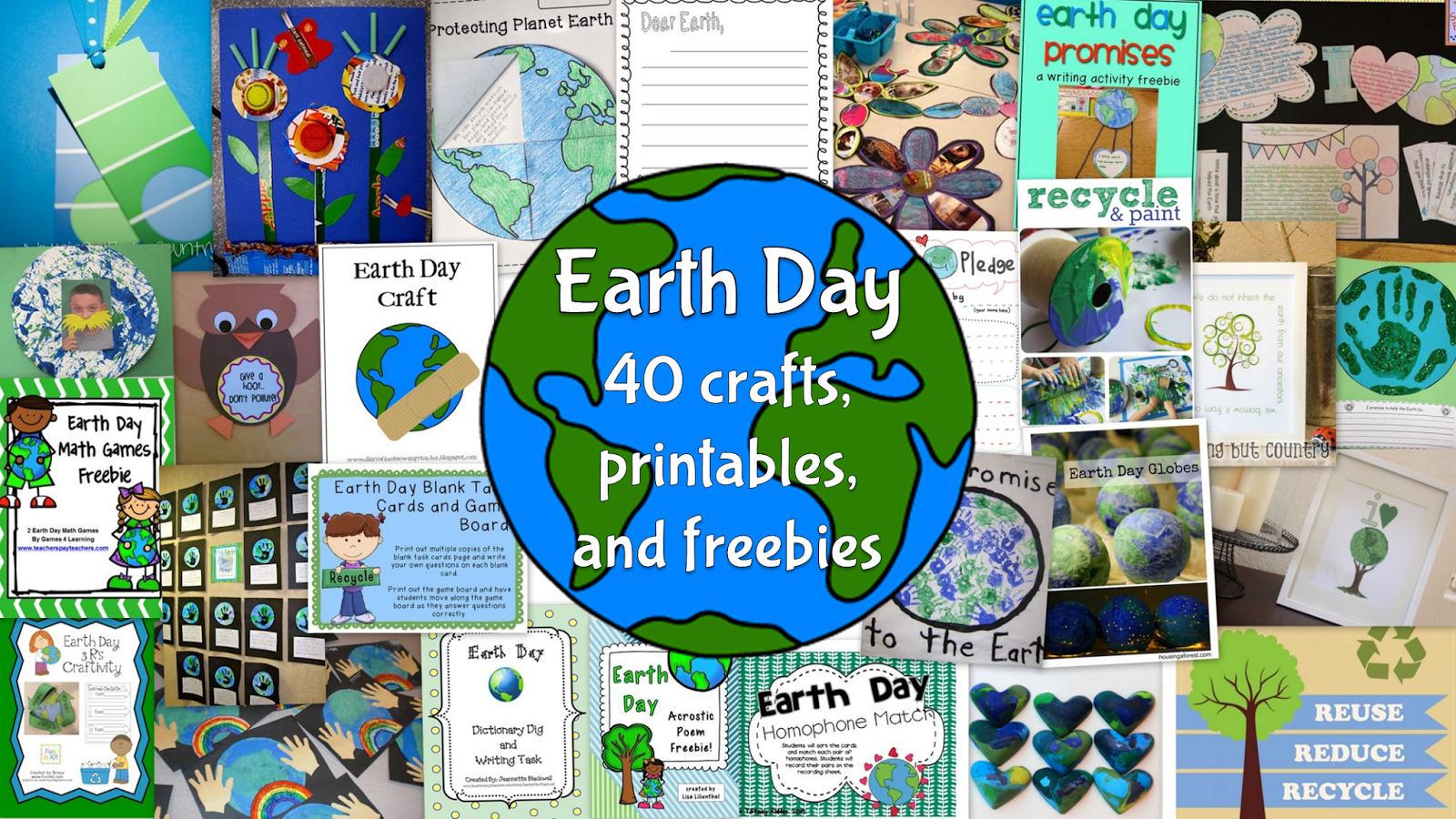 Hanging with Mrs Hulsey 40 Earth Day Freebies