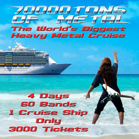 70 000 Tons of Metal 2018