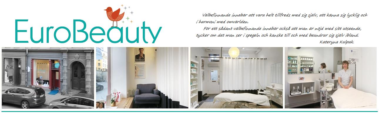Eurobeauty - behandling av ansikte, kropp, fötter och händer i Stockholm.