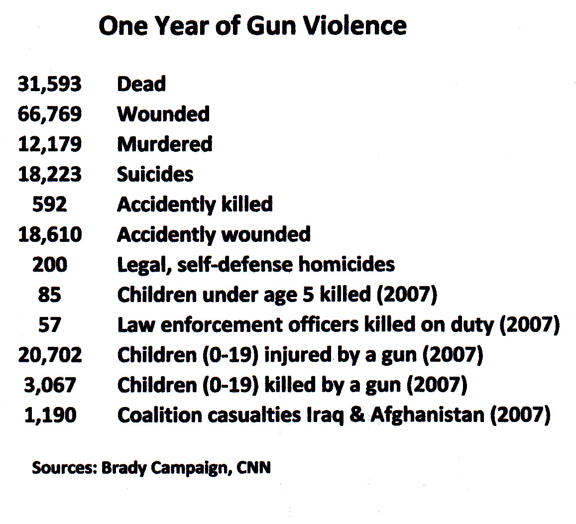Essay against gun control