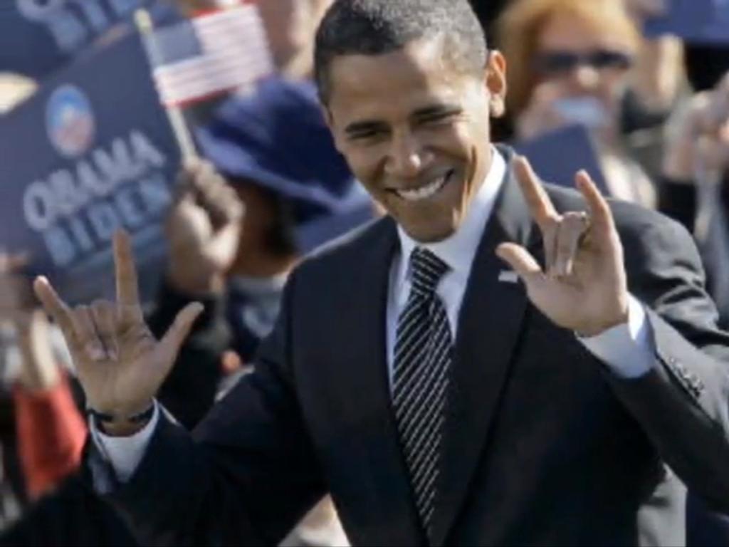 Bildergebnis für Bilder zu Obama zeigt satanistischen Gruß