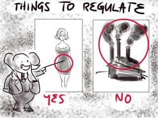 Things to Regulate