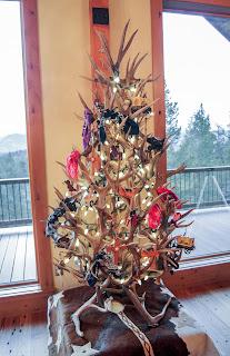 antler Christmas tree the peak antler company