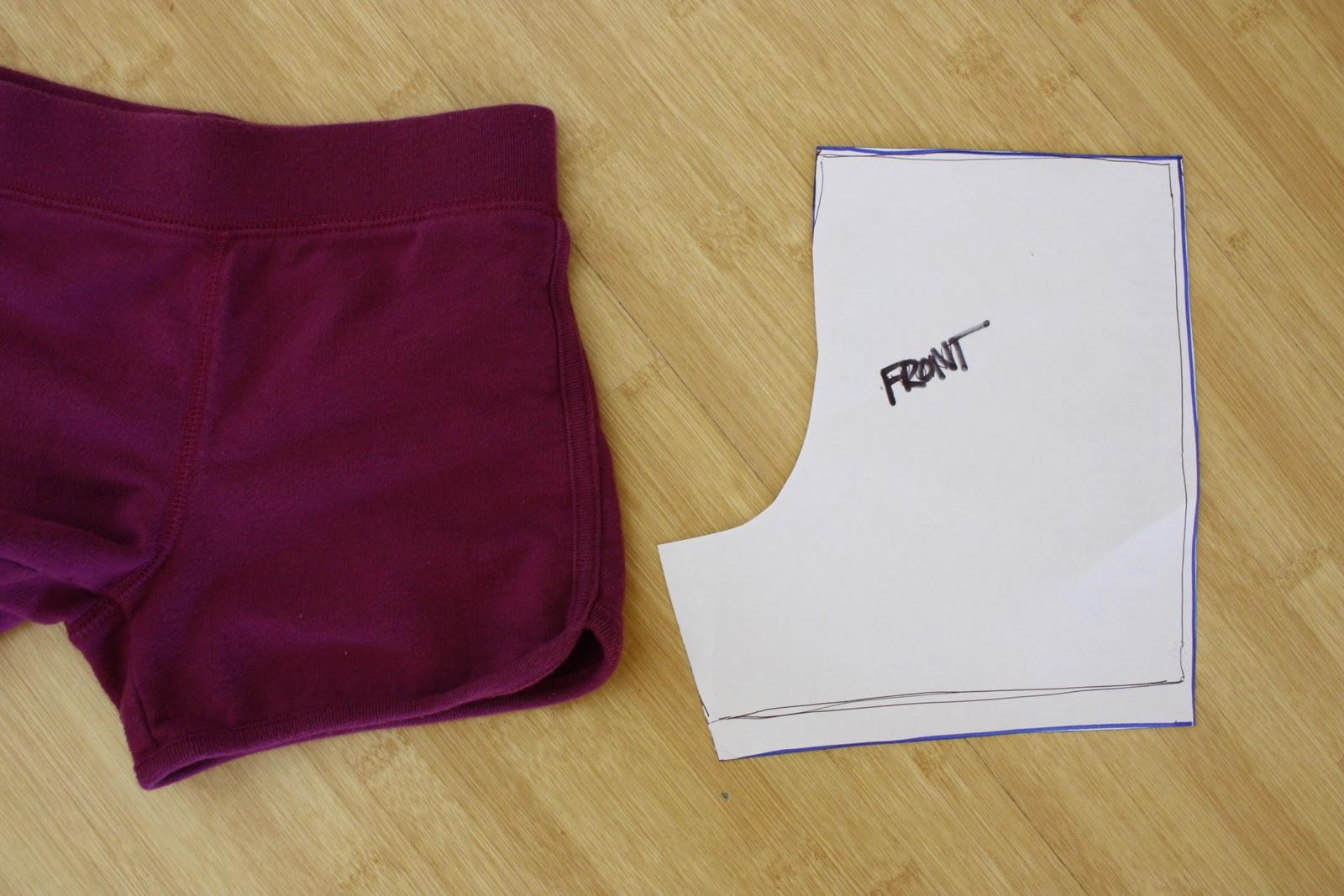 Пошив шорт женских своими руками 360