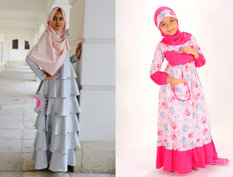 fashion baju muslim anak perempuan