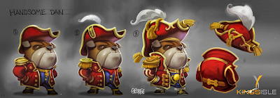 Pirate101 Marleybone Concept Art Handsome Dan