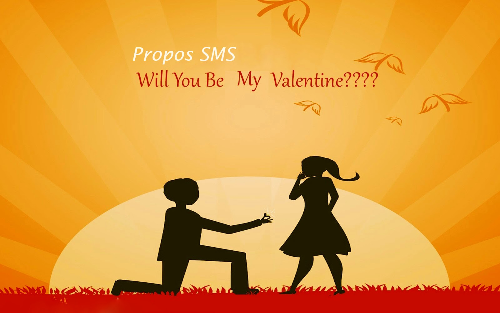 Propose Sms For Valentine's Day