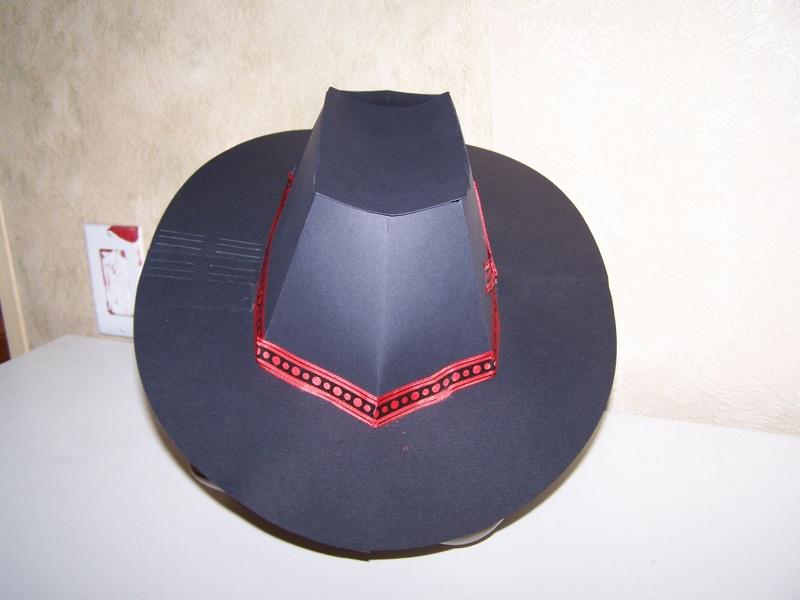 Шляпы  из бумаги ковбойские 159