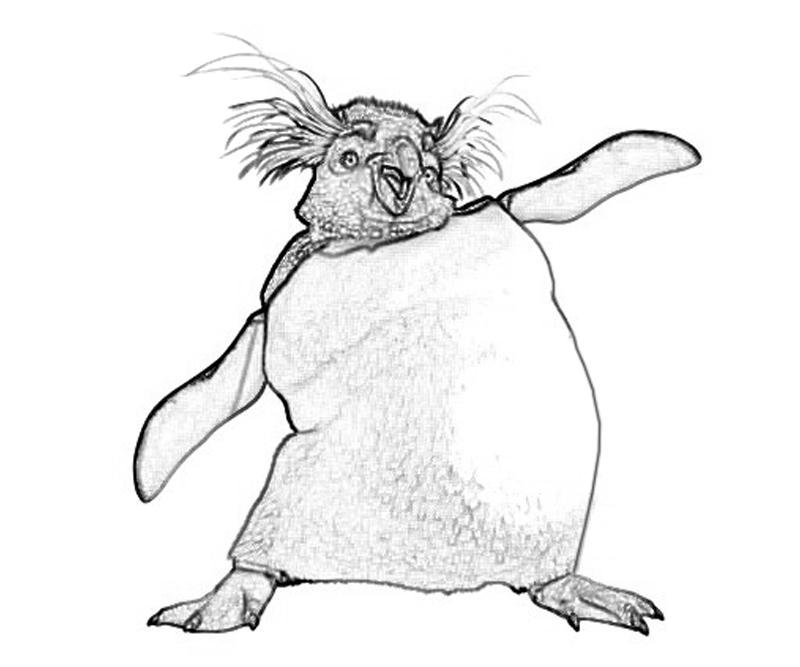 Happy feet two coloring pages