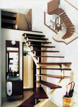 make your life colorful: under stairs bathroom