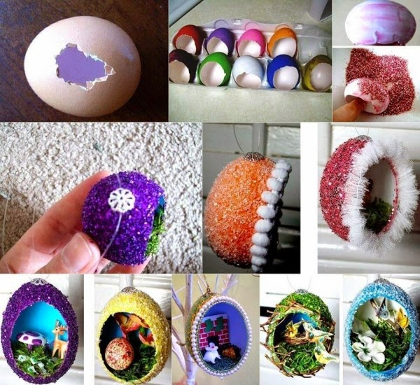 egg shell craft ideas