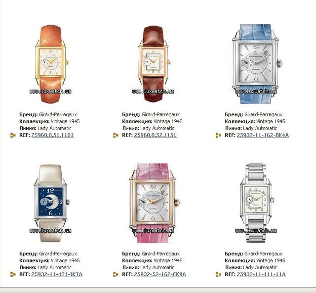 Модные часы из коллекции Винтаж 1945