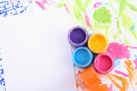 pintura de manos para bebés y niños