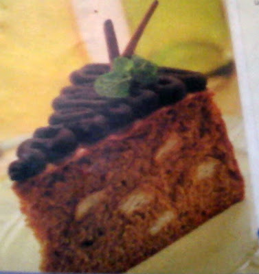 kue Ontbijtkoek Bercorak. padahal sebenarnya cara membuat kue