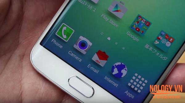 Mở hộp Samsung Galaxy S6 Edge Au