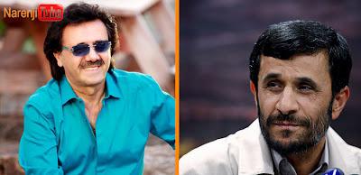 معین و محمود احمدی نژاد