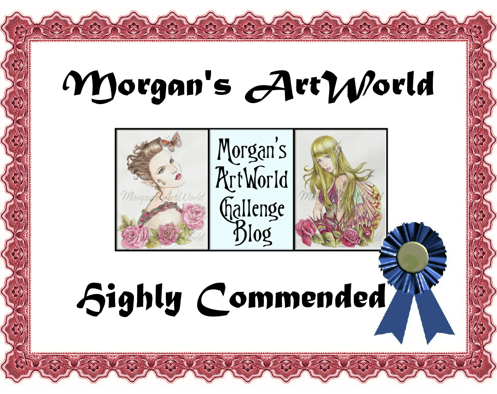 I'm a Highly Commended Winner!