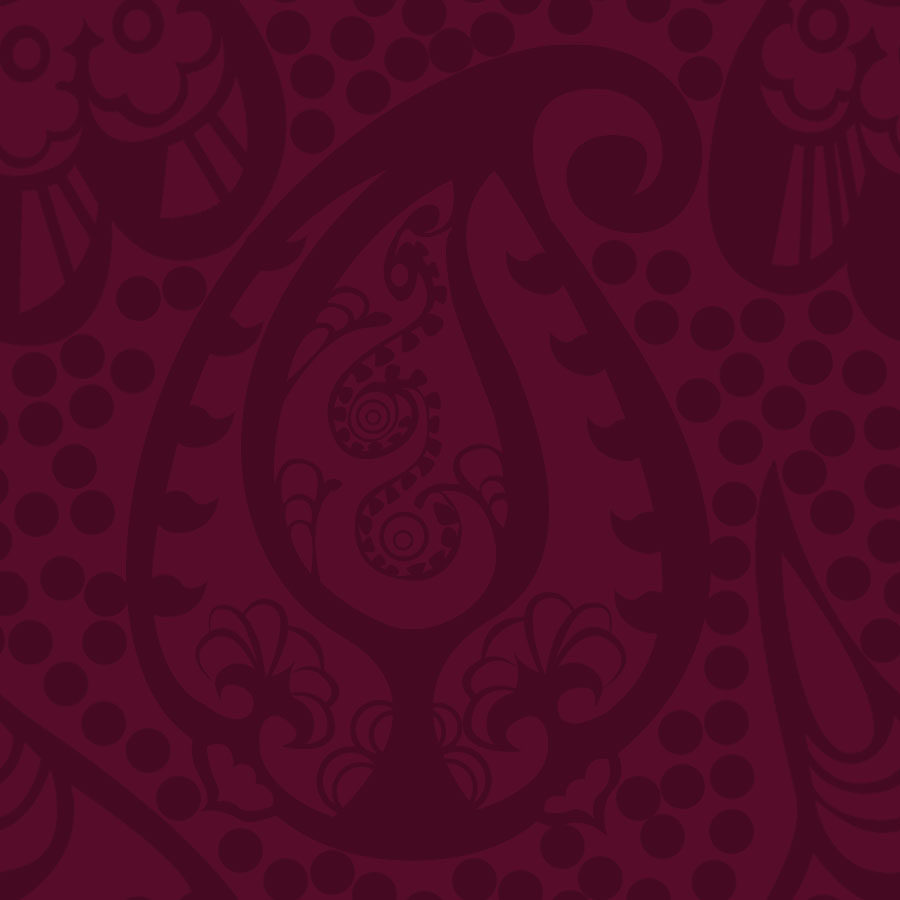 Periwinkle paisley more free paisley wallpaper for Paisley wallpaper